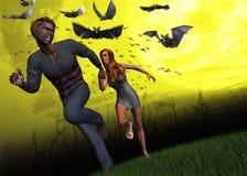 Attack av illustrationen för Ebola virus Arkivfoton