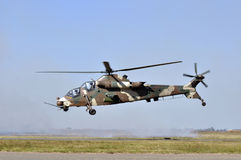 Attack Helicopter. Royalty Free Stock Photos