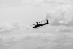 Attack helicopter Airbus Helicopters Tiger. Royalty Free Stock Photo