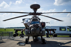 Attack helicopter Airbus Helicopters Tiger. Royalty Free Stock Photography