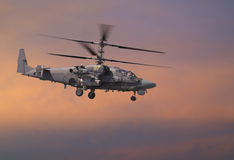 Attack helicopter Royalty Free Stock Photography
