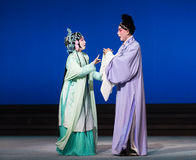 """Attack by innuendo-Kunqu Opera""""Madame White Snake"""" Stock Images"""