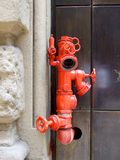 Attack pump for fire-fighters Stock Photography
