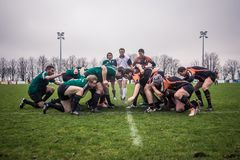 Attack in Rugby Stock Photography