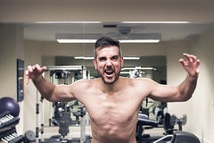 Attack your workout Royalty Free Stock Photography