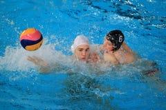 Attacked Stepan Rezek - water polo Royalty Free Stock Photo