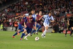 Attacking Leo Messi Stock Photos