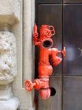 attackpump för brandmän Arkivbild