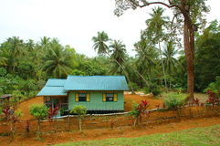 Attap House. In Pulau Ubin, Singapore Stock Photography