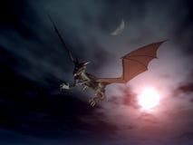 Attaque 3 de dragon illustration de vecteur