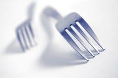 Attaque de fourchette image stock