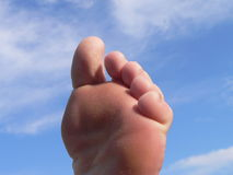 Attaque de la partie de pied de 50 pi Image stock