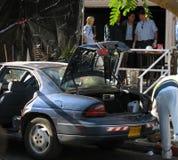 Attaque de terreur dans Eilat Photographie stock