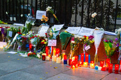 Attaque de terrorisme de Paris Images stock