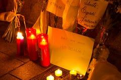 Attaque de terrorisme de Paris Photos stock