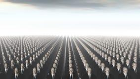 Attaque des clones Photos libres de droits