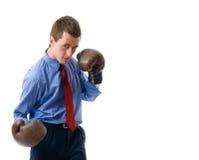 attaque l'homme d'affaires Photo libre de droits