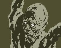 Attaques effrayantes de démon Illustration de vecteur Photo libre de droits