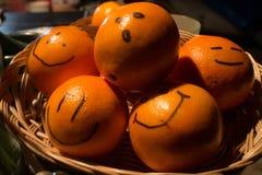 Atteggiamenti arancio Fotografia Stock Libera da Diritti