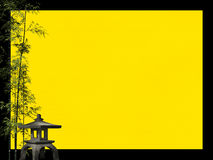 Atteggiamenti giapponesi 3: Cartolina rustica Fotografie Stock