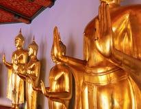 Atteggiamento del Buddha Fotografia Stock