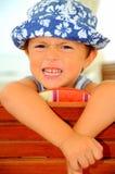 Atteggiamento del ragazzo Fotografie Stock Libere da Diritti