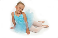 Atteggiamento della ballerina immagini stock