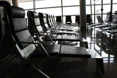 Attente d'aéroport Photos stock