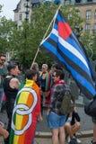 Attente d'activistes Photos libres de droits