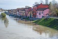 Attente de l'inondation images libres de droits