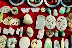Attente de la vente du jade Image stock