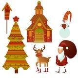 Attente de Noël Images libres de droits