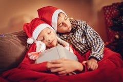 Attente de Santa Claus Image stock