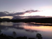 Attente du lever de soleil Image libre de droits