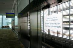 Attente du Skytrain Photos libres de droits