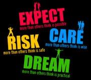 Attente et rêve illustration libre de droits