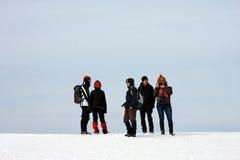 Attente sur la montagne Photographie stock libre de droits