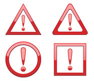 Attention. Vector attention sign. To see more go to my portfolio vector illustration