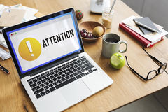 Attention Alert Exclamation Point Concept Royalty Free Stock Image