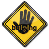 Attention bullying. And conflicts at work Stock Images