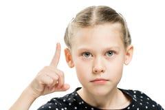 Attention de filles d'émotion photos libres de droits