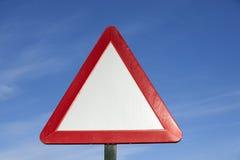 Attention de plaque de rue photo libre de droits