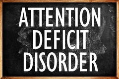 Attention Deficit Disorder Stock Photo