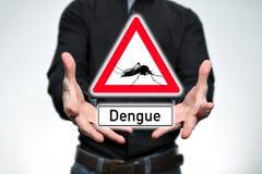 Attention, dengue Photo libre de droits