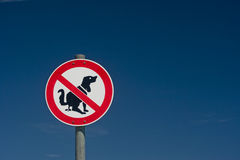 Attention dog owner Stock Photo