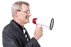 Attention, good news to everyone! Royalty Free Stock Image