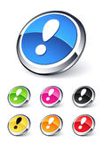 Attention icon Stock Image