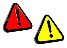 Attention icons stock illustration