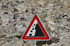 Attention landslide Royalty Free Stock Photography