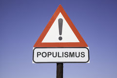Attention Populismus Stock Images